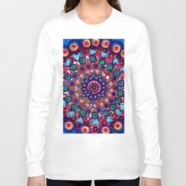 Fruit Salad Mandala Long Sleeve T-shirt