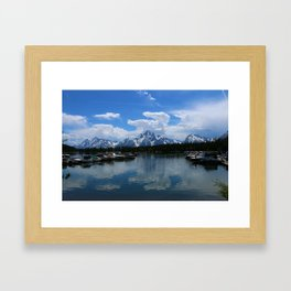 Colter Bay  - Jackson Lake Framed Art Print