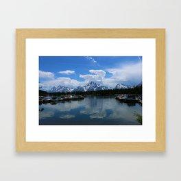 Colter Bay  - Jackson Lake Framed Art Print