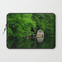 Green Reflections Laptop Sleeve