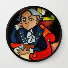 Immanuel Kant Wall Clock