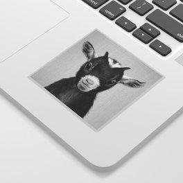 Baby Goat - Black & White Sticker