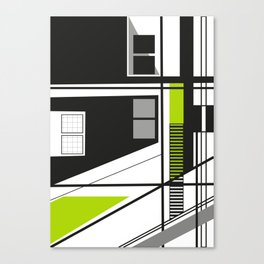 Linear Line 17 Canvas Print