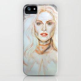 Julianne Moore Purple iPhone Case