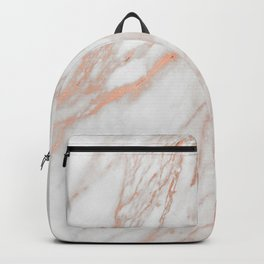 Marble Rose Gold - Am I Wrong Backpack