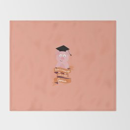 Dont mess up with a genius T-Shirt D2qn0 Throw Blanket