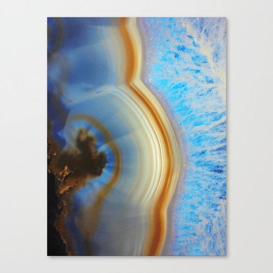 Iced Agate  Canvas Print