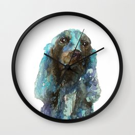 DOG#16 Wall Clock