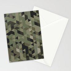 Isometric Camo Stationery Cards