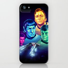 The Final Frontier iPhone Case