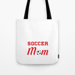 Loud and Proud Soccer Mom Beware Yells Often T-Shirt Tote Bag