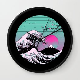 The Great Vapor Aesthetics Wall Clock