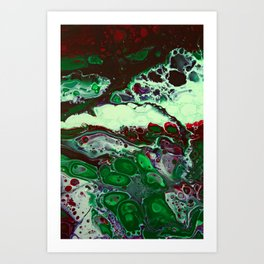 """Green Compliments"" Art Print"