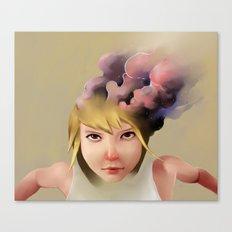 Girl mind Canvas Print