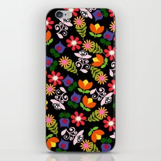 70s Flowers iPhone & iPod Skin