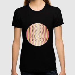 OpArt WaveLines 4 T-shirt