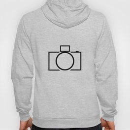 DSLR Camera Logo Hoody