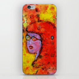 Red Hot Summer Girl iPhone Skin