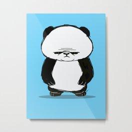 Big Panda Metal Print
