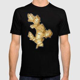 ginger root power T-shirt