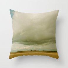 Flatlands  Throw Pillow