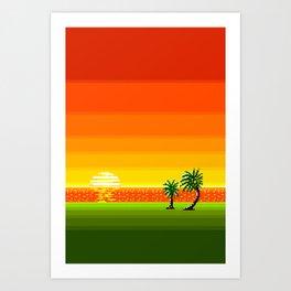 Landscape XVI Art Print