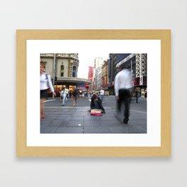 Embarrassed Framed Art Print