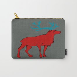 The lovely reindeer Carry-All Pouch