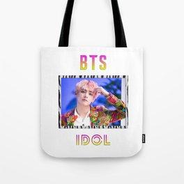 BTS Song IDOL Design - V Tote Bag