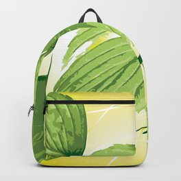 Ficus Plant 4 Backpack