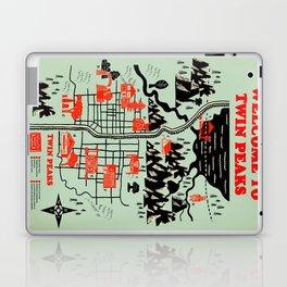 Twin Peaks Map Laptop & iPad Skin