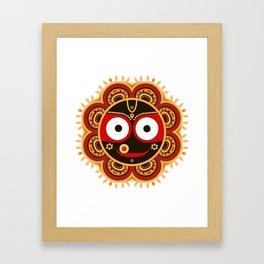Lord Jagannatha. Framed Art Print
