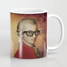 Hipster Mozart Coffee Mug
