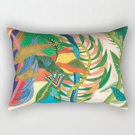 Eye flower into the jungle Rectangular Pillow
