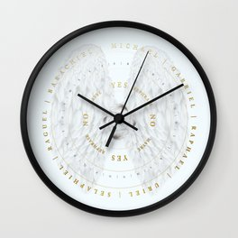 Angelic Connections | Pendulum Board Wall Clock