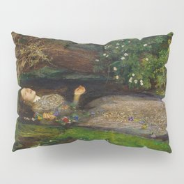John Everett Millais - Ophelia Pillow Sham