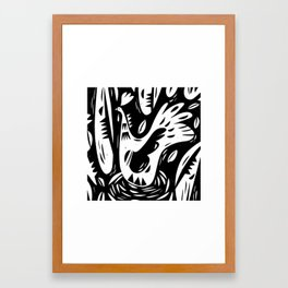 The nest Framed Art Print