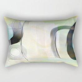 Lemon Meringue Rectangular Pillow
