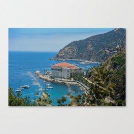 Catalina Island Casino Canvas Print