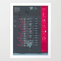 Bureau Oberhaeuser Calendar 2014 dark Art Print