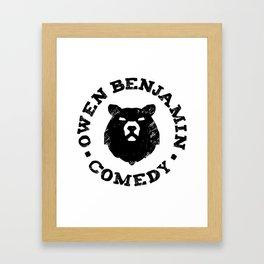 Owen Benjamin Comedy Framed Art Print