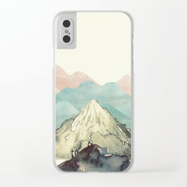 Mountains Landscape Clear iPhone Case