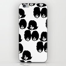 Bouffant Girls II iPhone & iPod Skin