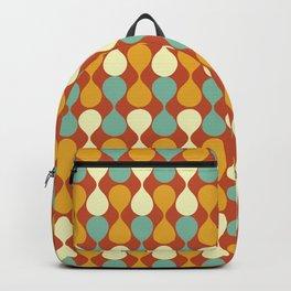 Mirrored Raindrops Mid Century Modern Backpack