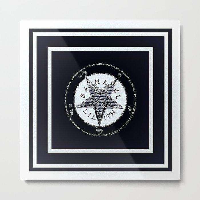 SAMAEL  LILITH Metal Print