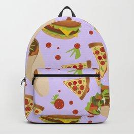 Hamburgers And Taccos Backpack