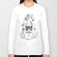 halloween Long Sleeve T-shirts featuring Halloween by Cassandra Jean
