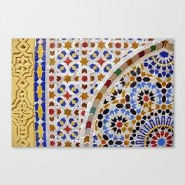 Mosaic Morocco Canvas Print