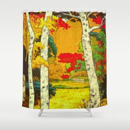 Home at Syin Shower Curtain