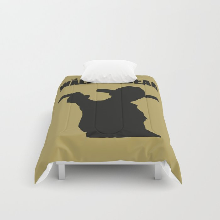 The Walking Dead Rick Zombies Comforters By Migzum Society6